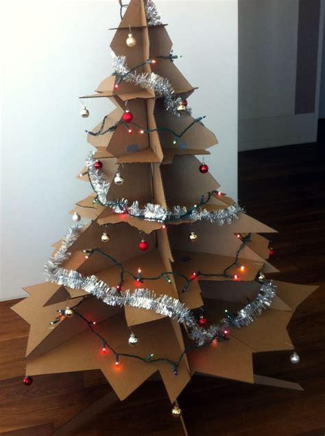 cardboard tree decor cardboard tree and