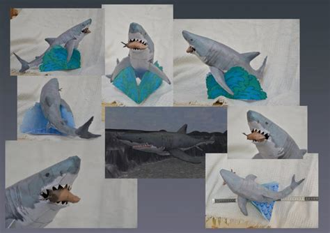 Free Papercraft Downloads - zoo tycoon great white shark free papercraft