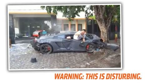 fatal lamborghini crash grisly video of fatal lamborghini street racing crash