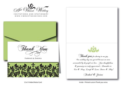 thank you letter sle invitation thank you wording a vibrant wedding