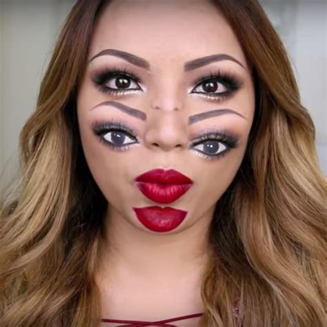 best makeup tutorial this makeup tutorial will totally trip you out
