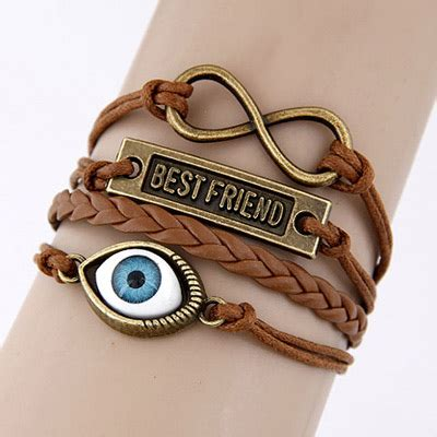 Gelang Fashion Decorated Simple Design T6c7f8 free brown simple eye weave design asujewelry