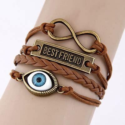 Gelang Korea Color Simple Design 0a6ac7 free brown simple eye weave design asujewelry