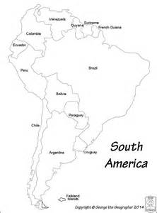 black and white map of american continent pictures