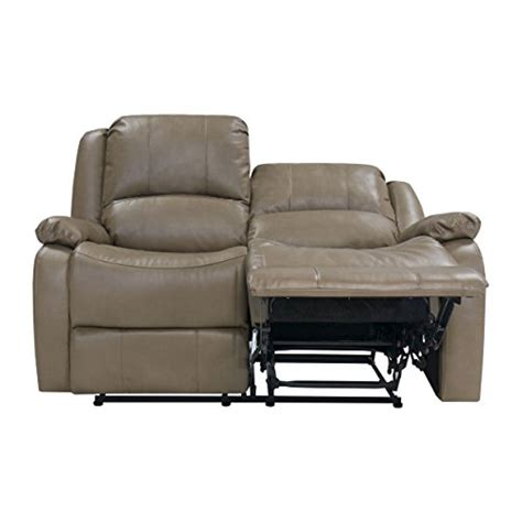wall hugger double recliner loveseat recpro charles 58 quot double rv zero wall hugger recliner