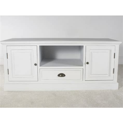 New England White 2 Door Tv Cabinet White Tv Cabinets With Doors