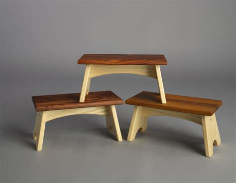 Wood Step Stools Furniture by Useful Wooden Teak Step Stool Teak Furnituresteak Furnitures
