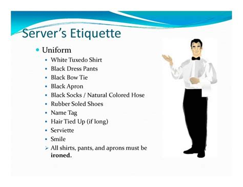 page 3 banquet server my style