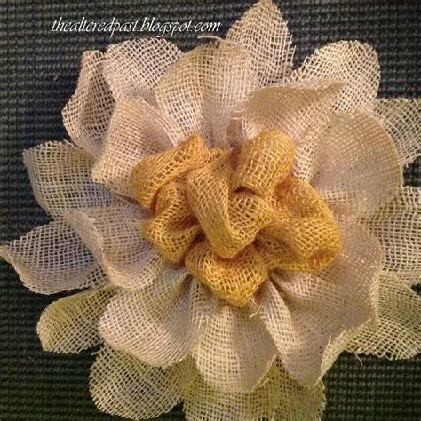 burlap flower template 1000 images about flowers on