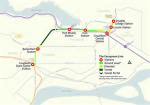 canada line stops map skytrain evergreen line moving forward for 2016 arrival