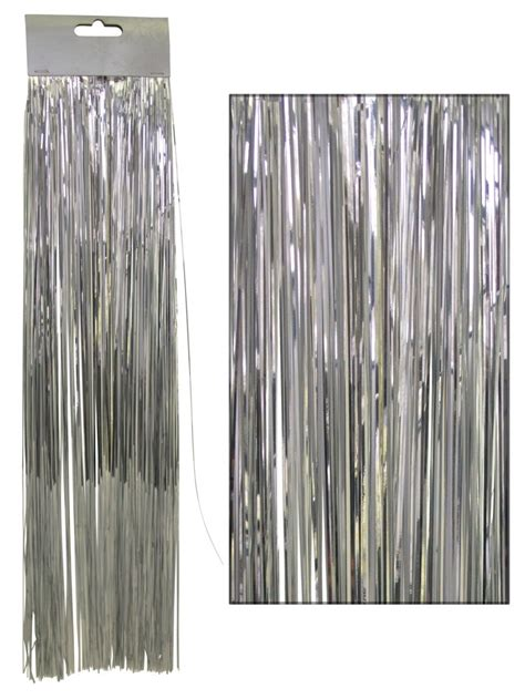silver lametta tinsel icicles 300 strands
