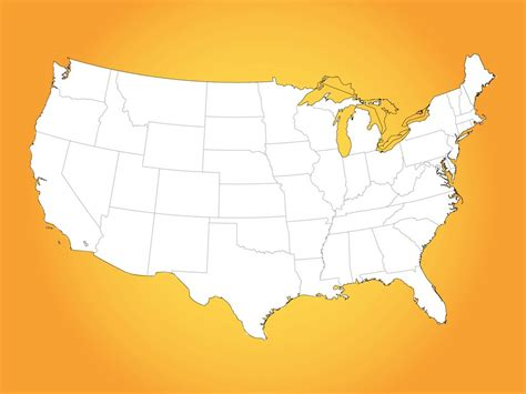 usa map vector image free usa map