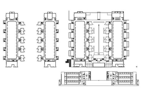 Floorplan Design salk institute louis kahn cad design free cad blocks