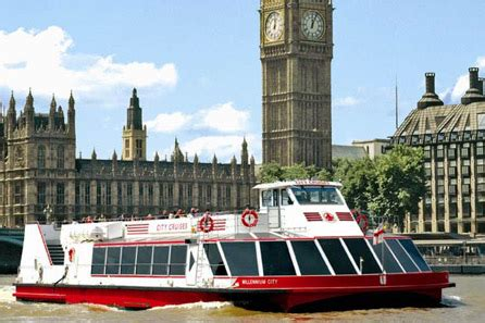 thames river sightseeing cruise thames cruise sightseeing river red rover ticket for two