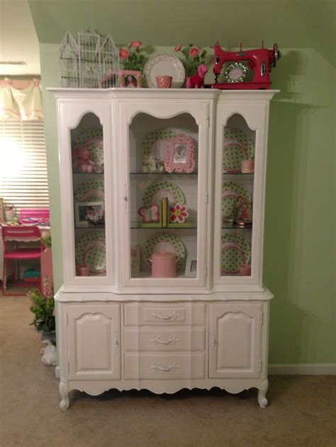 french country china cabinet anna s vintage find thomasville country french tableau