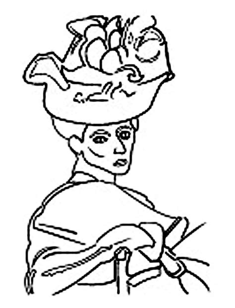 matisse goldfish coloring page sketch coloring page