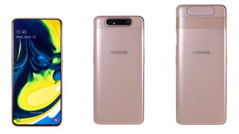 Samsung Galaxy A80 Availability by Samsung Galaxy A80 India Launch Specs Value Availability Gadgetsclick