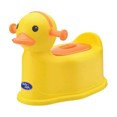 Top Pispot Duduk Anak Potty Anak jual babysafe duck potty anak kuning harga kualitas terjamin blibli