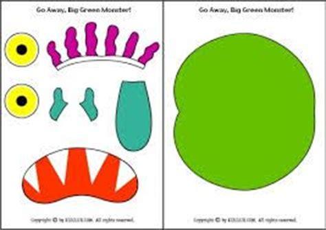 go away big green monster printable book google search