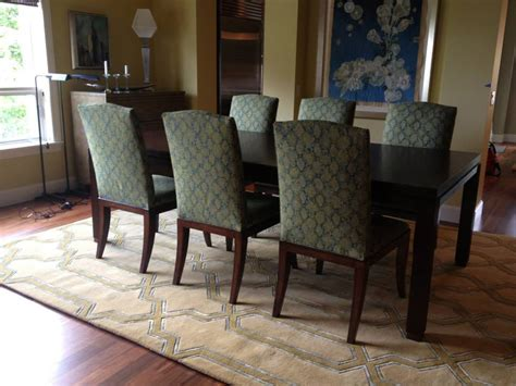 area rugs for dining room area rugs finding the right size faith sheridan