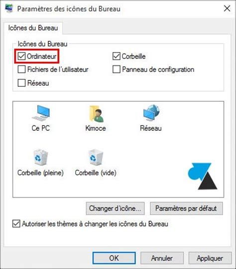 windows 8 d駑arrer sur le bureau windows 10 afficher l ic 244 ne ordinateur ce pc sur le