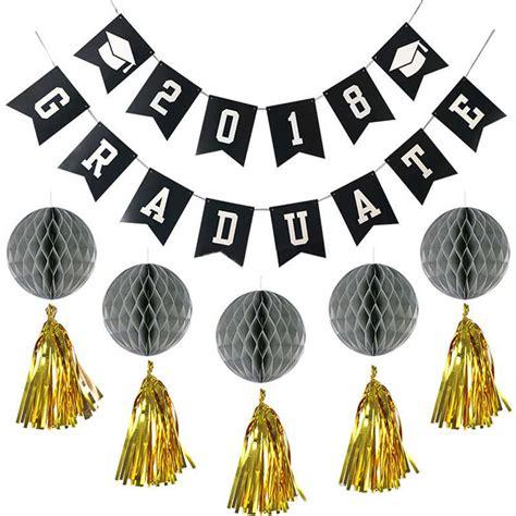 Sale Honey Comb Garland Hiasan Natal haochu 11pcs set creative 2018 graduation supplies