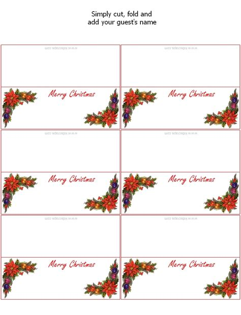new year place cards templates printable postcards templates for free merry