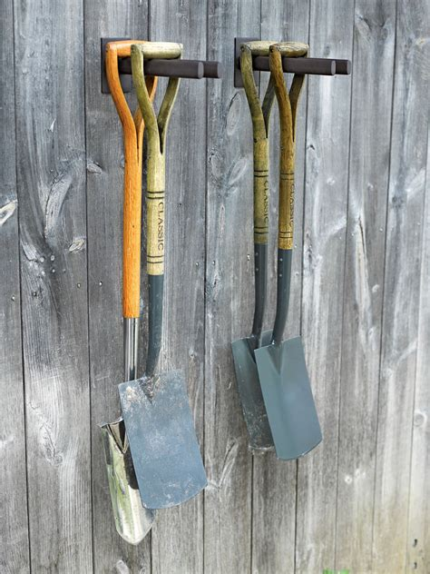 Garden Tool Wall Rack Garden Tool Rack Steel Rack For Shovels Hoes