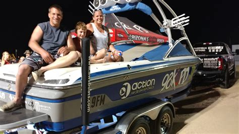 Boat Giveaway - rock ur wake boat giveaway 98 kupd arizona s real rock