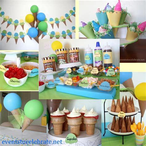ice cream birthday party ideas ice cream party ideas