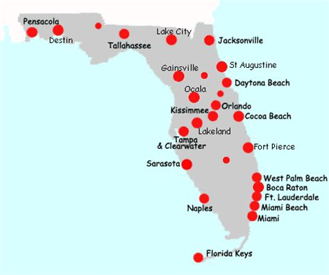 florida resort map map of florida hotels and inns usa