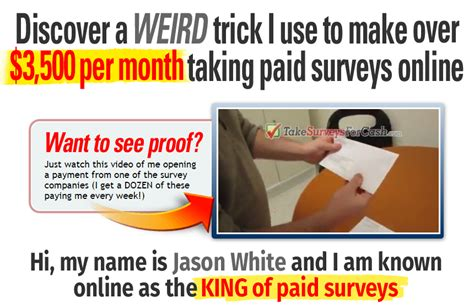 Get Paid Cash For Surveys - paid surveys get paid directly takesurveysforcash