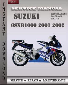 small engine repair manuals free download 2002 suzuki grand vitara interior lighting suzuki gsxr1000 2001 2002 service manual pdf repair service manual pdf