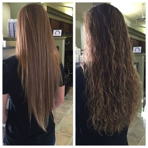 before and after big wave perm yelp make me beautiful body wave perm attempt pinteres