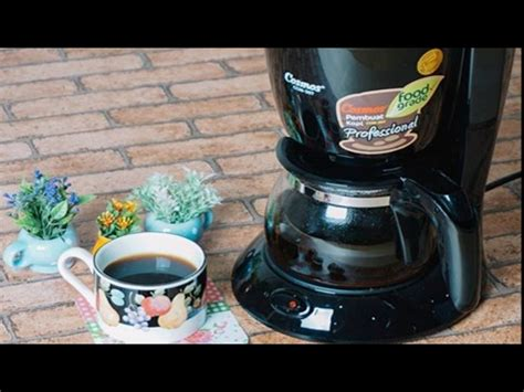 cosmos ccm 307 coffee maker how to make coffee with cosmos ccm 307 coffee maker
