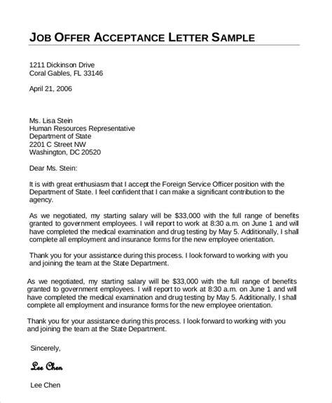Acceptance Letter Draft how to write acceptance letter for govt compudocs us