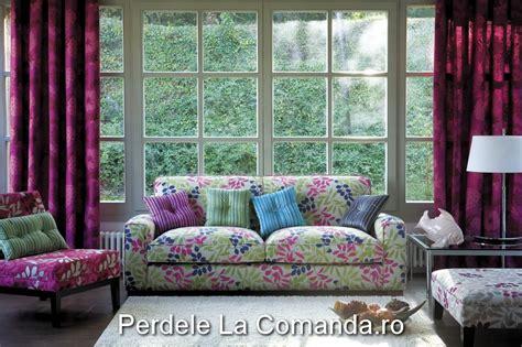 decorare ferestre living perdele si draperii la comanda perdele living moderne
