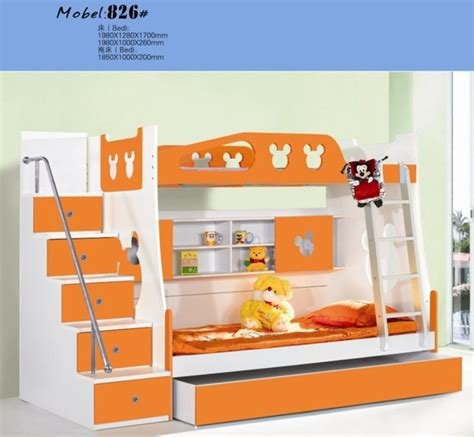 Futon Etage by Mdf Panels Children Bed New Bunk Bed With Stairs
