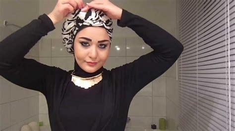 tutorial layering turban style turban hijab tutorial style 1 youtube