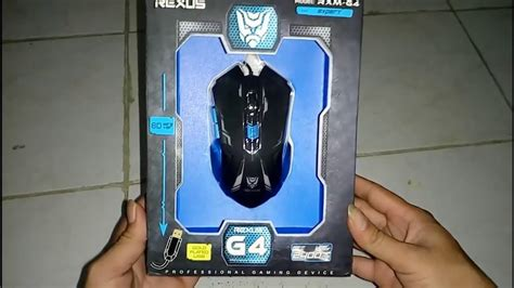 Mouse Gaming Rexus G4 unboxing rexus g4 mouse gaming