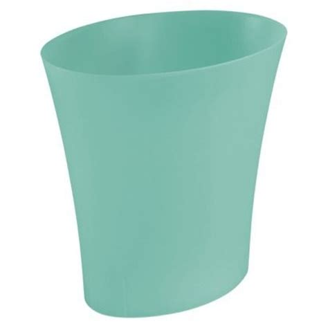 Turquoise Bathroom Trash Can 2 99 Store Price Small 13 Qt Turquoise Plastic Waste