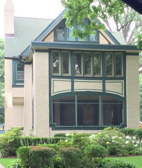 exterior paint colors in frank lloyd wright s oak park