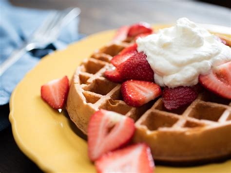 The Ideas Kitchen by Overnight Brown Butter Yeast Raised Waffles Recipe
