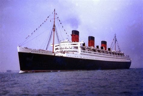ship queen mary 1 rms queen mary ocean liners ships and boats pinterest