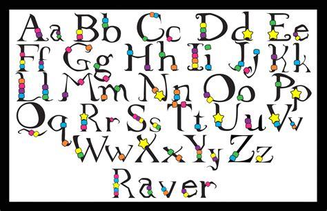 font design a z lettering art design a z graffiti art collection