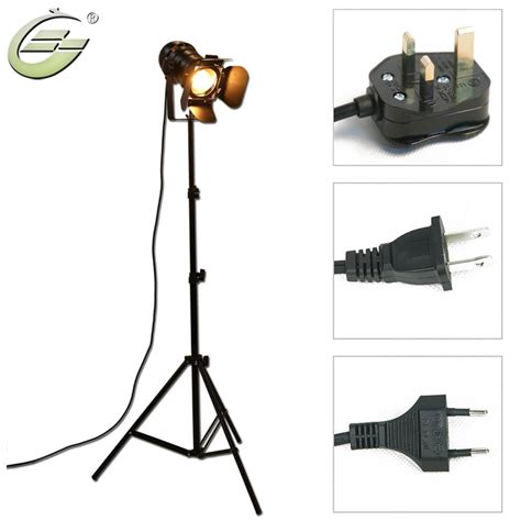 black industrial floor l industrial bar creative studio retro tripod black floor