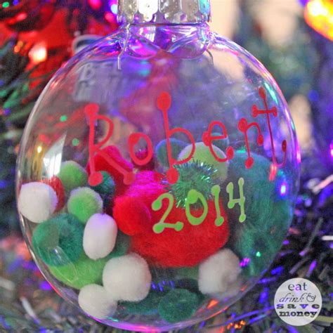 christmas ornament toddler sensory craft eat drink and