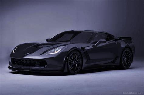 corvette black chevrolet corvette z06 car pictures images gaddidekho