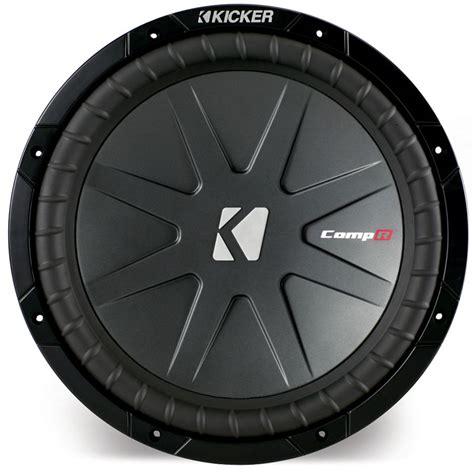 Kickers Limited 4 kicker cwr12 4 car audio comp r series 12 quot subwoofer 1000 watts peak dual 4 ohm sub limited