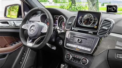 mercedes benz amg gls  matic facelift interior